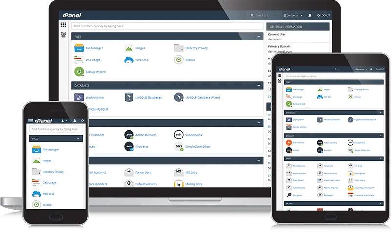 cpanel hosting diseño web rayo creativo