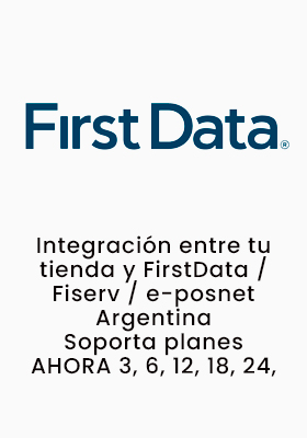 Integra Tu E-Commerce Con First Data